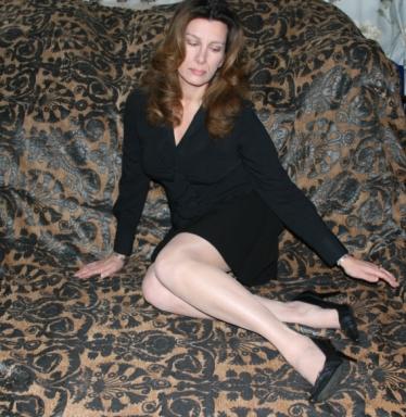Rhonda L Thomas (aka Leigh Thomas), c. 2011. Photo for 'Meanwhile I'm Still Thinking' album art.