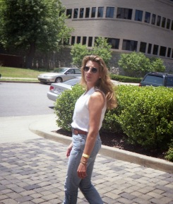 Rhonda L Thomas at Broadcast Music Incorporated headquarters, Nashville, Tennessee. c 1999,