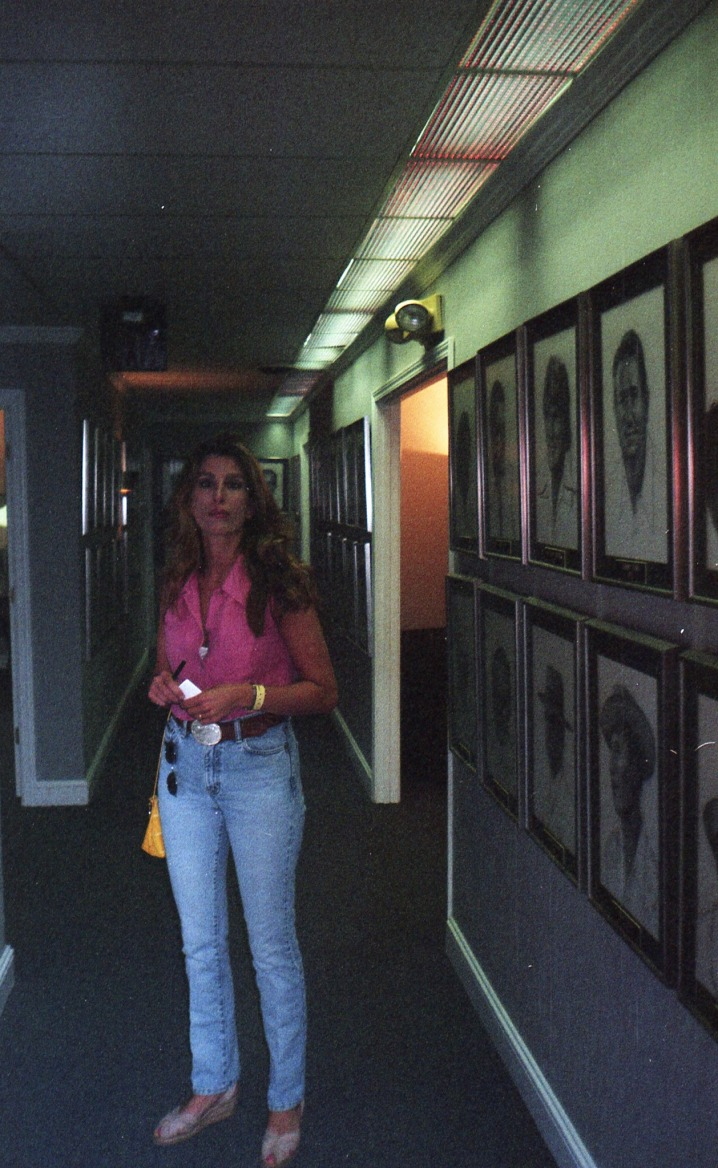 Rhonda L Thomas at the Nashville Songwriter's Association International headquarters in Nashville, Tennessee.